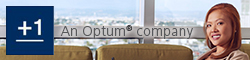 Small Plus One Optum logo
